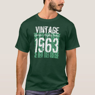 50th Birthday Gift Best 1963 Vintage V006 T-Shirt