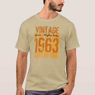 50th Birthday Gift Best 1963 Vintage V009A T-Shirt