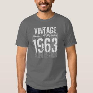 50th Birthday Gift Best 1963 Vintage V009C T-shirt
