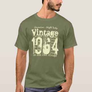 50th Birthday Gift Best 1964 Vintage A04 T-Shirt