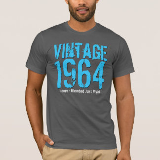 50th Birthday Gift Best 1964 Vintage Blend V42 T-Shirt