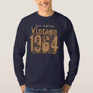 50th Birthday Gift Best 1964 Vintage V010 T-Shirt