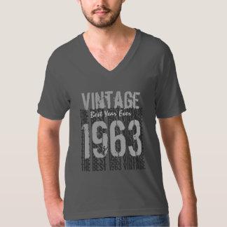 50th Birthday Gift Best Vintage Year 1963 V01 Tshirts