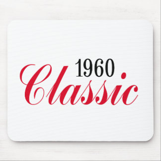 50th birthday gifts, 1960 Classic! Mouse Pad