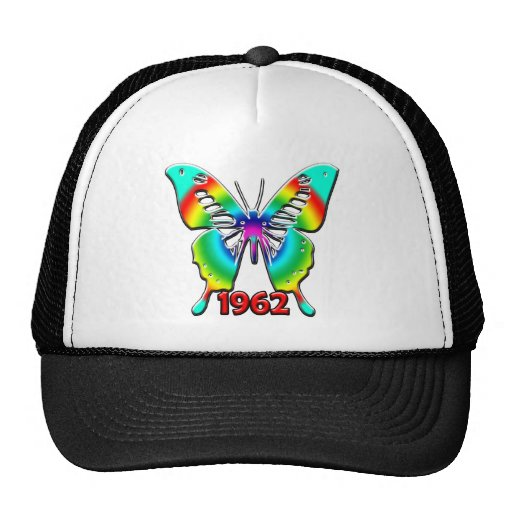 50th Birthday Gifts, 1962 Hats