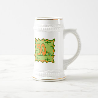 50th Birthday Gifts Beer Stein