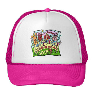 50th Birthday Gifts Cap