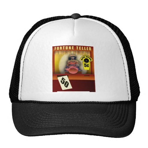 50th Birthday Gifts, Fortune Teller Guessing Age! Hats