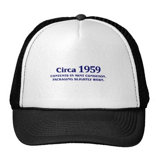 50th Birthday Gifts! Mesh Hats