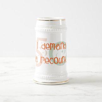50th birthday gifts, I demand a recount! Coffee Mug