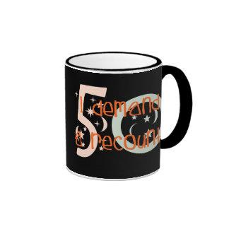 50th birthday gifts, I demand a recount! Ringer Mug