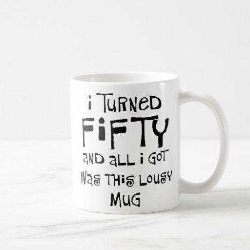 50th birthday gifts, I hate this shirt! Mugs