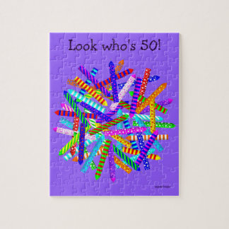 50th Birthday Gifts Jigsaw Puzzle