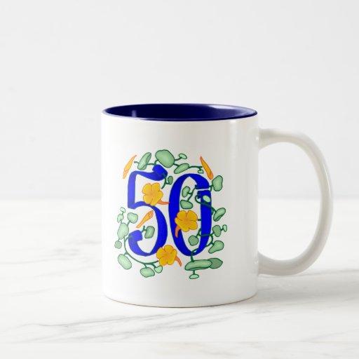 50th Birthday Gifts Coffee Mugs