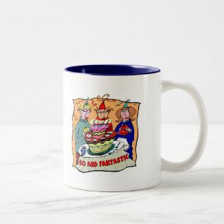 50th Birthday Gifts Two-Tone Mug