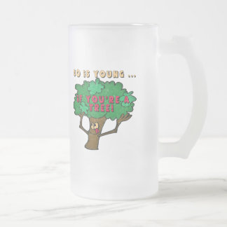 50th Birthday Gifts 16 Oz Frosted Glass Beer Mug