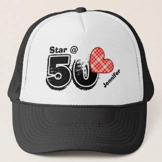 50th Birthday I'm a Star Custom Name V10 Cap