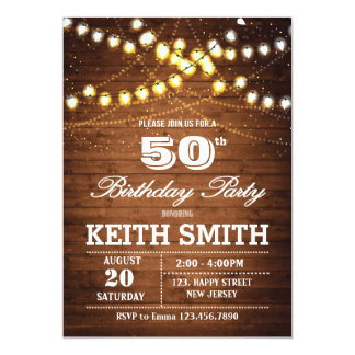 50th Birthday Invitations Announcements Zazzlecomau