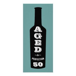 50th Birthday Invitation Wine Aged to Perfection