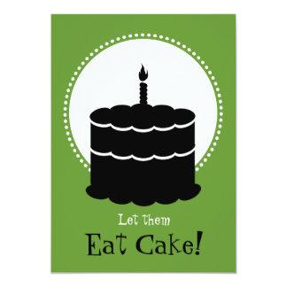50th Birthday - Margarita vs Cake Card