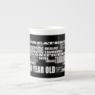 50th Birthday Party Greatest Fifty Year Old Porcelain Mug