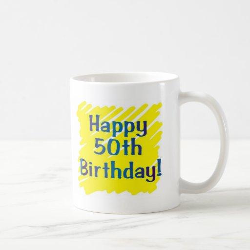 50th Birthday Party Coffee Mugs