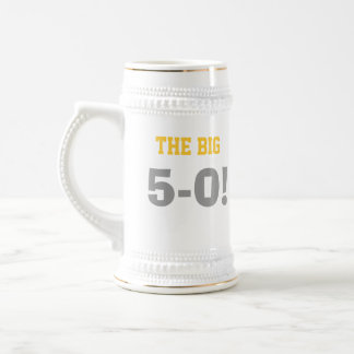 50th Birthday Stein Beer Steins
