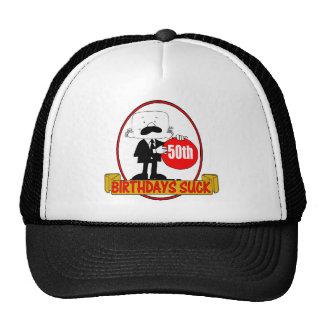50th Birthday Sucks Gifts Trucker Hat