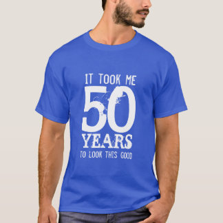 50th Birthday t shirt | Customizable