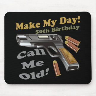 50th Birthday T-shirts and Gifts Mouse Pad
