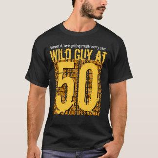 50th Birthday Wild Guy Speeding Along S10CA T-Shirt