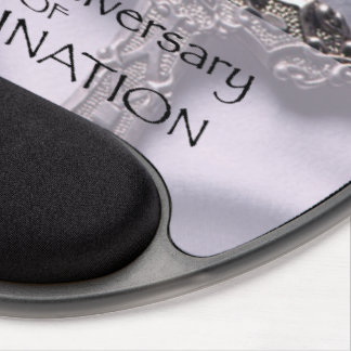 50th Custom Name Ordination Anniversary Chalice Gel Mouse Pad