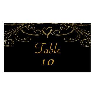 50th Golden Wedding Anniversary Chandelier Business Card Templates