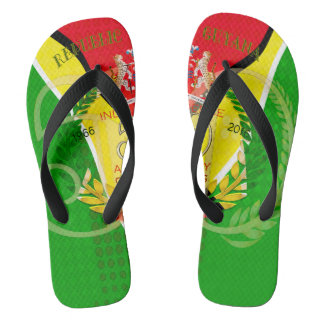 50th Independence Anniversary Guyanese pride Adult Thongs