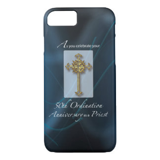 50th Jubilee Ordination Anniversary of Priest iPhone 8/7 Case