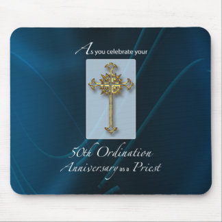 50th Jubilee Ordination Anniversary of Priest Mouse Pad