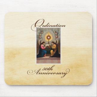 50th Ordination Anniversary Angels at Altar Mouse Pad