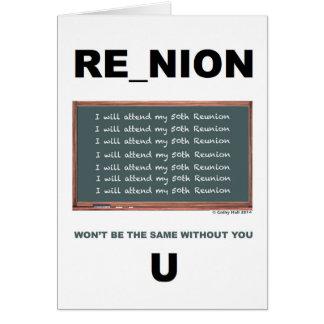 50th Reunion Greeting Card