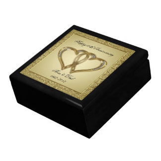 50th Wedding Anniversary Gift Box
