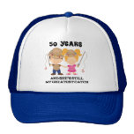 50th Wedding Anniversary Gift For Him Cap