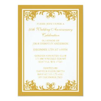 50th Wedding Anniversary Invitations & Announcements | Zazzle.com.au