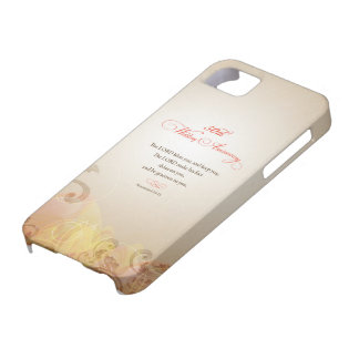 50th Wedding Anniversary, Lord Bless & Keep iPhone 5 Cases