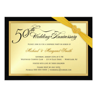 50th Wedding Anniversary Gift Certificate Template : Add Your Own Image Invitations, 27,000+ Add Your Own Image Invites ...