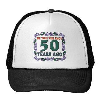 50thweddinganniversary cap