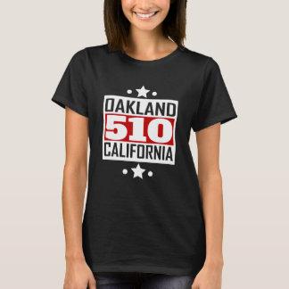 510 Oakland CA Area Code T-Shirt