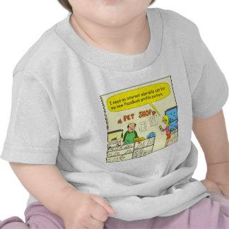 512 facebook cat cartoon t shirts