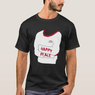 5150 Asylum Customs Straitjacket: Happy Place T-Shirt