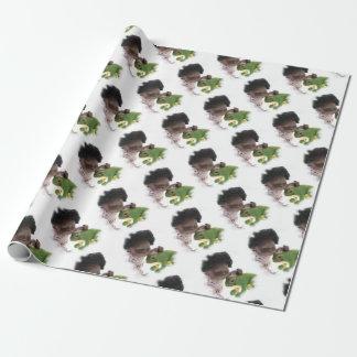 519 Sasha Cara Black baby gift paper