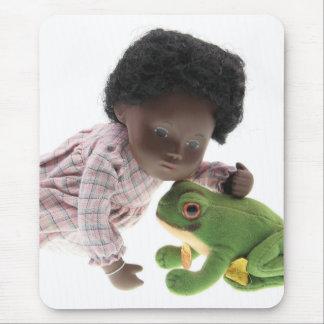 519 Sasha Cara Black baby mouse pad