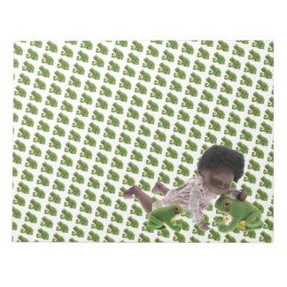 519 Sasha Cara Black baby note pad